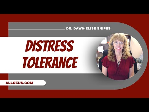 Dialectical Behavior Therapy Distress Tolerance