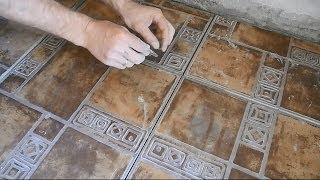 Как почистить плиточные швы.(В ролике подробно рассказано и показано о доступных всем способах,как и чем почистить швы между плитками..., 2014-05-26T16:46:33.000Z)