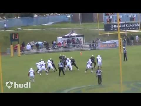 Arthur Ray Jr. Senior Offensive Lineman 2014 Fort Lewis Highlights