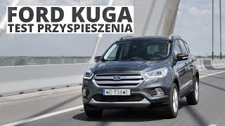 Ford Kuga 2.0 TDCi 150 KM (MT) - acceleration 0-100 km/h