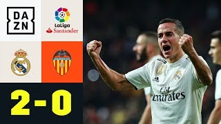 Lucas Vazquez sichert Real Pflichtsieg: Real Madrid - Valencia 2:0 | Highlights | LaLiga | DAZN