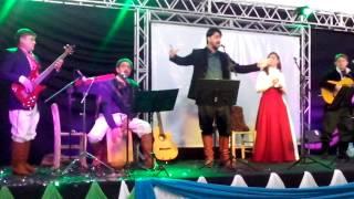 Grupo Reculuta Santo Antônio das Missões - baile do sapucay Abertura da Exposam 2014
