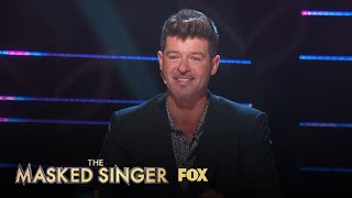 Robin Reacts To The Rabbit's Performance | Season 1 Ep. 2 | THE MASKED SINGER