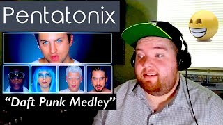 Pentatonix | Daft Punk Medley | Jerod M Reaction