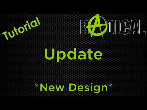 Tutorial Software Update for the new RADICAL Design. thumbnail