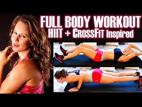 30 Day Weight Loss Challenge Workout, HIIT & CrossFit Inspired, 30 Minute Cardio For Fat Loss