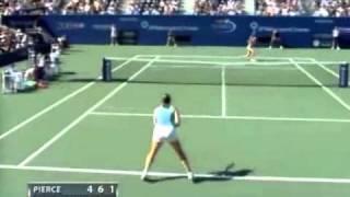 Maria Sharapova vs Mary Pierce 2004 US Open Highlights