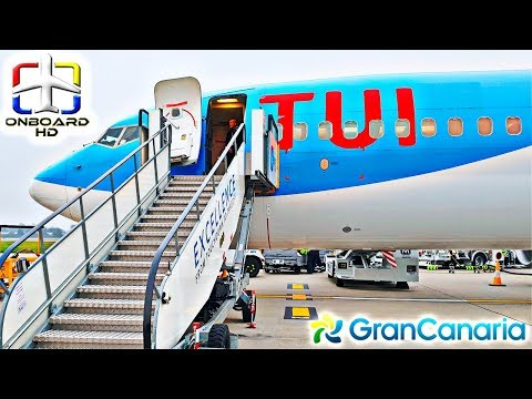 TRIP REPORT | TUI: A Real Holiday Flight! ツ | London-Gatwick to Gran Canaria | Boeing 737