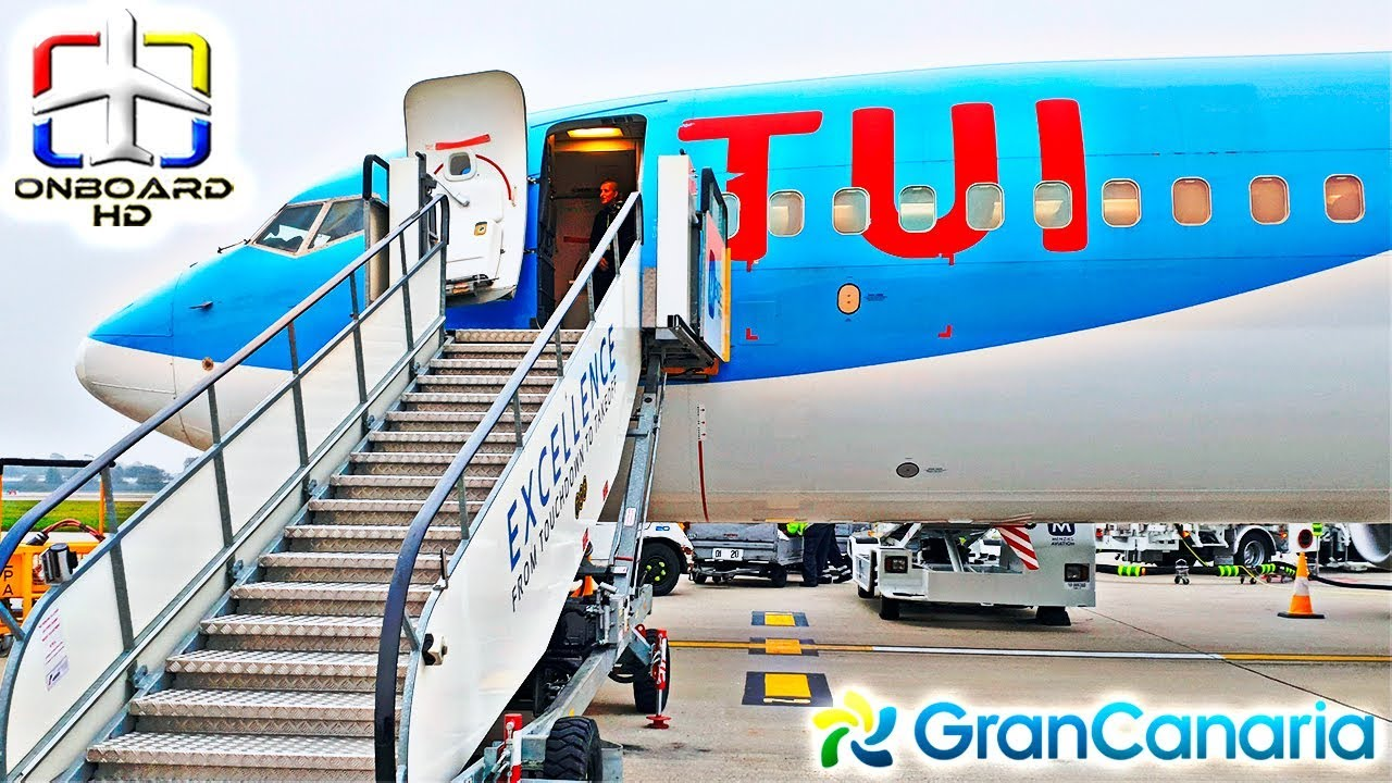 Trip Report Tui A Real Holiday Flight ツ London Gatwick To Gran Canaria