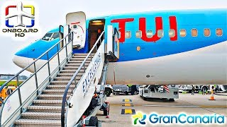 Trip Report   Tui: A Real Holiday Flight! ツ   London-gatwick To Gran Canaria   Boeing 737