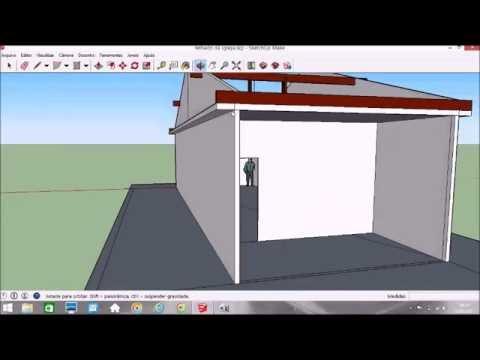 Como Calcular O Caimento Do Telhado Colonial Youtube