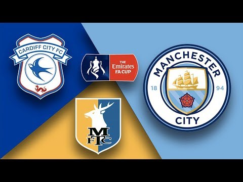 Cardiff city vs manchester city 0-2 | match audio & english commentary