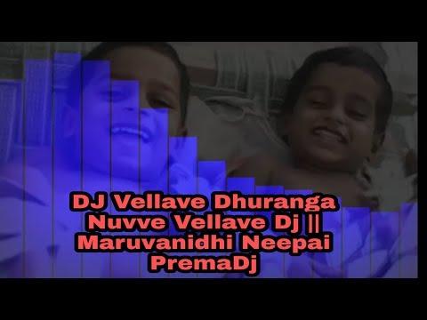 #warangaltunes-#yashodaproductions-vellave-dhuranga-nuvve-vellave-dj-||-maruvanidhi-neepai-premadj