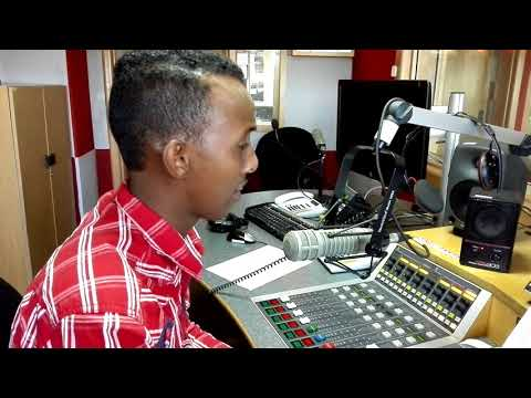 Recording News for BBC Swahili Radio Story