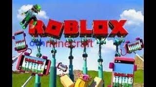 Lite roblox och minecraft
