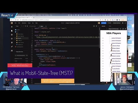 How do I get started with MobX-State-Tree and React?