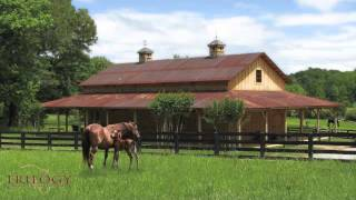 Horse Barn & Riding Arena Plans By Trilogy