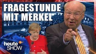 Merkel musste sich vom Bundestag befragen lassen