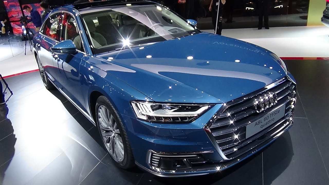 Audi a8 interior 2020