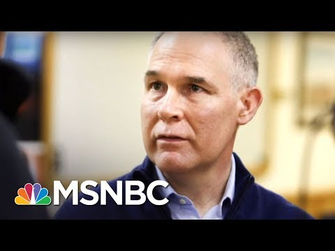 Former EPA Head Gina McCarthy: Scott Pruitt 'Hiding In His Office' | Kasie DC | MSNBC