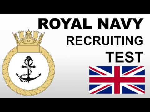 Royal Navy Recruiting Test Questions, Answers and Explanations (RN Test)