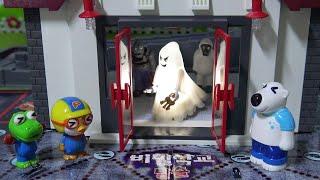 유령이 나오는 비밀학교 방탈출! 보물을 찾고 단서를 기…