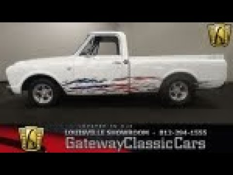 1967 Chevrolet C10 - Louisville - Stock #1848