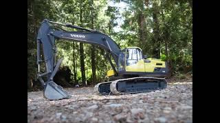 All metal RC Volvo EC300D Excavator