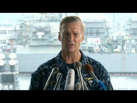 US Commander to be relieved of duties after spate of collisions