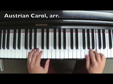 Study Piece • Austrian Carol, arranged