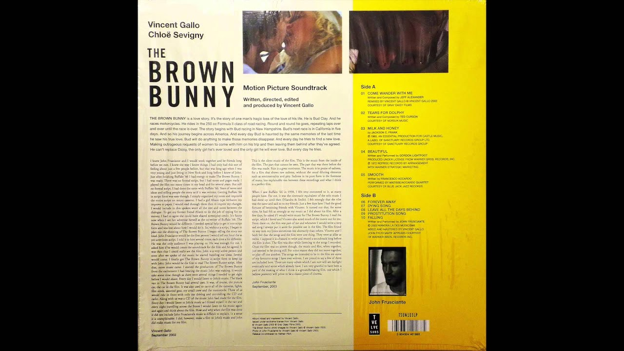 Gordon Lightfoot - Beautiful Brown Bunny Colonna sonora-5856