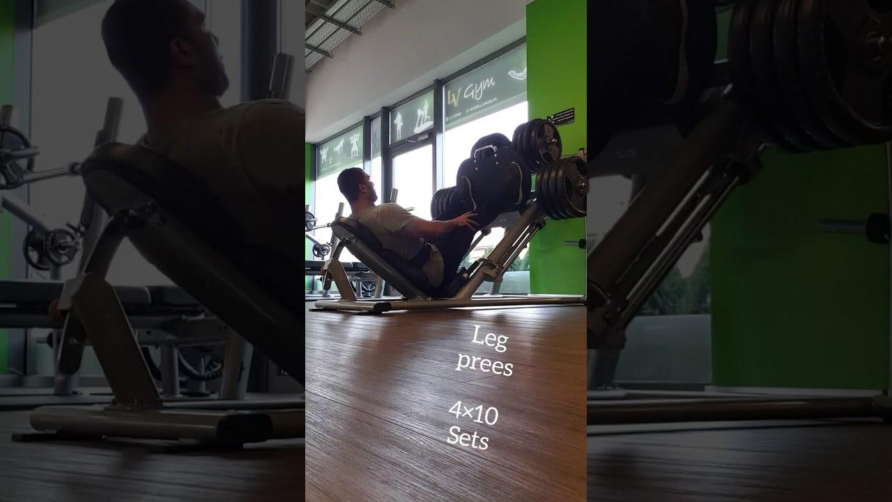Leg prees EXERCISE ❤💥