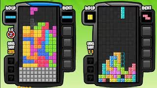 Tetris Battle - Gameplay (Rank 44 - Game 2)