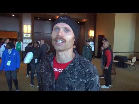 Jared Ward After 2018 Houston Half Marathon