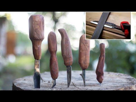 Как изготовить резаки для резьбы по дереву