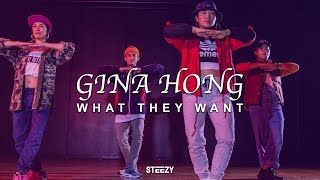 Gina Hong Choreography | What They Want - Russ Dance | STEEZY.CO (Intermediate Class)
