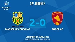 Marseille Consolat vs Rodez full match
