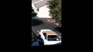 Dumb Criminal Gets Finger Stuck in Gas Tank