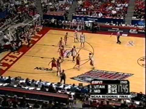 2006 Elite 8 Maryland vs  Utah