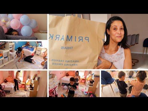 HAUL IKEA, PRIMARK, ACTION grand ménage chambres des enfants