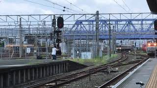 [メトロ甲種輸送‼️]DE10–1727号機+東京メトロ丸ノ内線2000系2111f+ヨ9825 豊橋駅 通過‼️