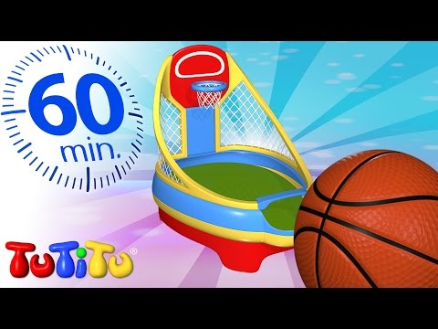 TuTiTu Specials | Basketball | And Other Learning Toys | 1 HOUR Special