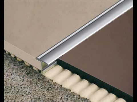 Colocaci n de perfil para separar pavimentos youtube - Perfil aluminio leroy merlin ...