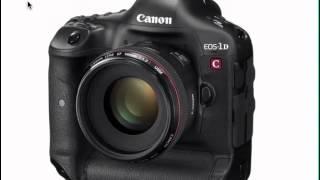 Canon EOS Photographer Randall M. Rueff - The Canon Cinema EOS-1DC Camera Introduction