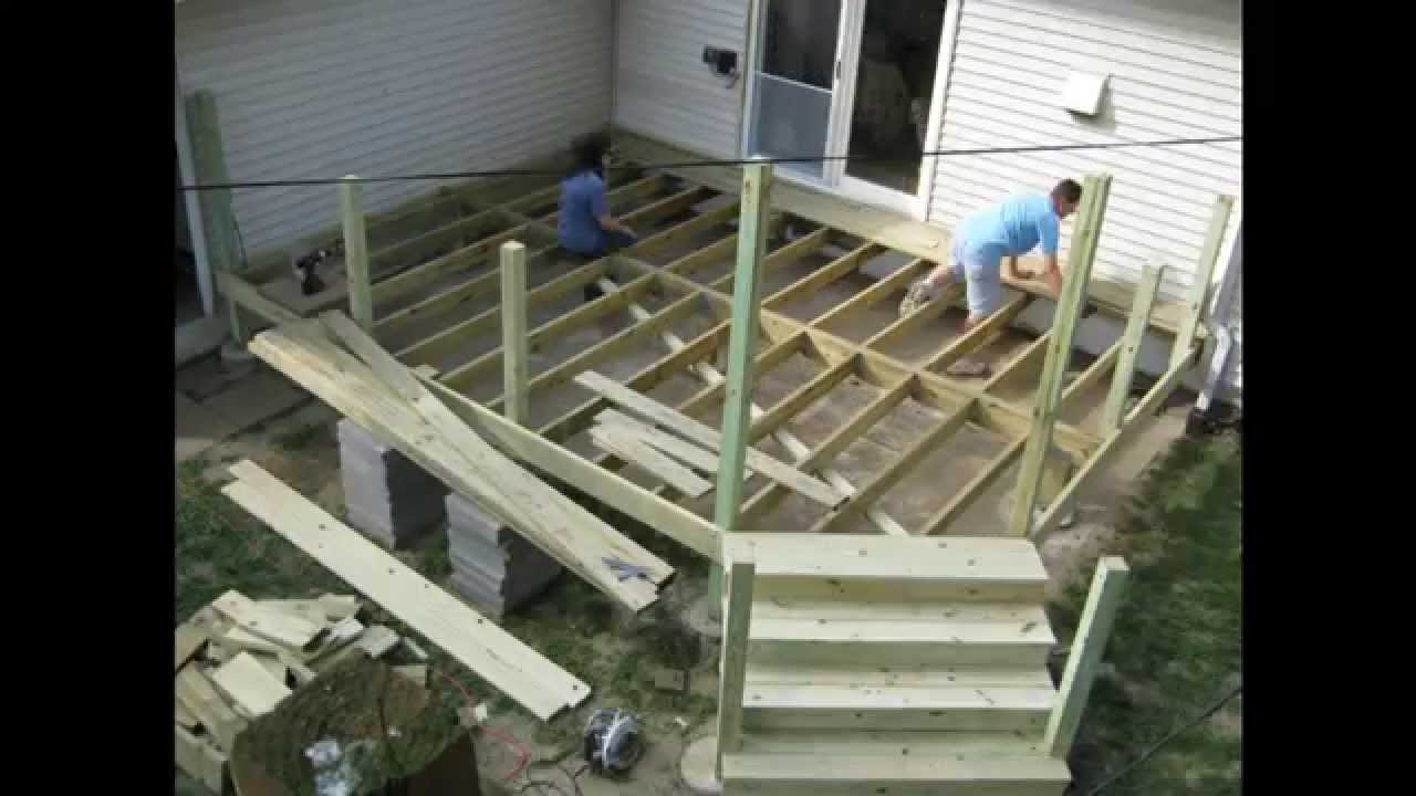 How To Build A Deck Time Lapse Movie Project Every 10