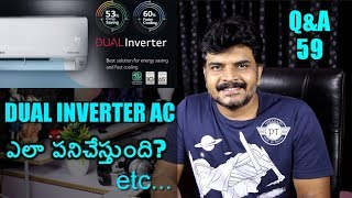 Tech Q&A 59  Dual inverter vs Normal AC,Stainless Steel VS Aluminum,Oneplus 6 Launch invitation etc