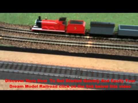 Modelling Railroad Toy Train Scenery -Superb Lionel polar express: The best Model railroad | Make the most beautiful model railway click here