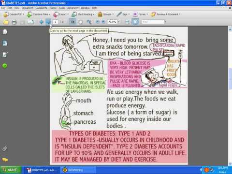 SESSIONS FOR NURSES 5 - DIABETES MELLITUS