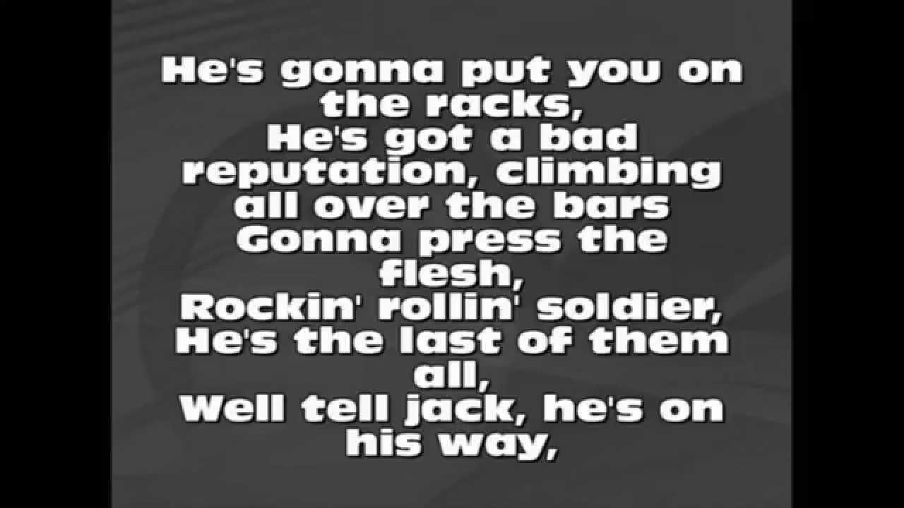 AC/DC Big Jack Lyrics - YouTube