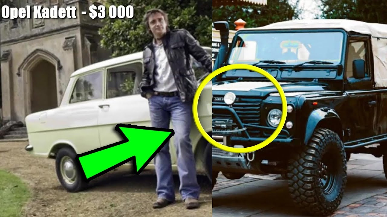 2000000 richard hammond super cars collection youtube. Black Bedroom Furniture Sets. Home Design Ideas